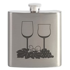 Wine Glasses Flask