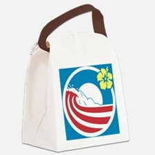 Obama 2012 Canvas Lunch Bag
