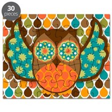 Owl Boheme Brown Puzzle