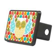 Owl Boheme White Hitch Cover