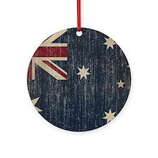 VintageAustralia Round Ornament