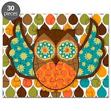 Owl Boheme Brown Puzzle