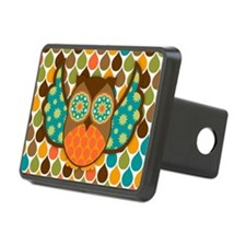Owl Boheme Brown Hitch Cover