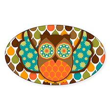 Owl Boheme Brown Decal