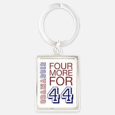 Obama 44 Portrait Keychain