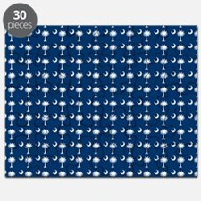South Carolina State Palmetto Flag Puzzle