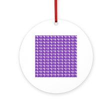 SC Palmetto Moon Round Ornament