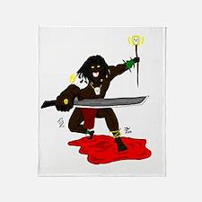 Mr. Zism, Voodoo villain Throw Blanket