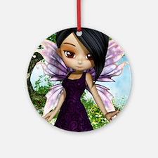 Lil Fairy Princess Round Ornament