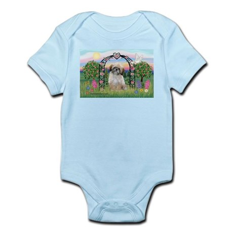 Rose Arbor Shih Tzu Infant Bodysuit