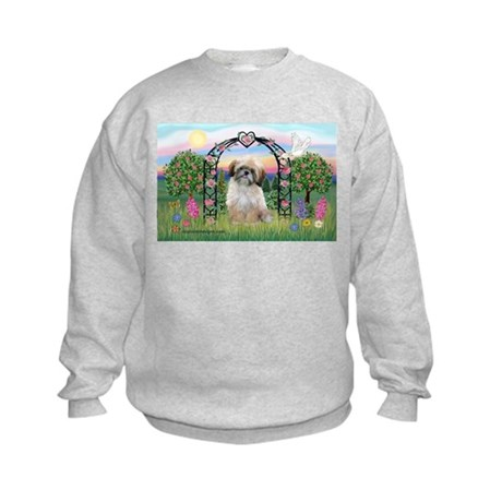 Rose Arbor Shih Tzu Kids Sweatshirt