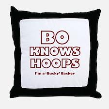 Bo Ryan - WI Throw Pillow