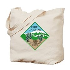 Fort Carson Tote Bag