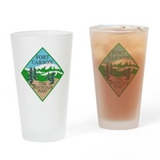 Fort Carson Drinking Glass