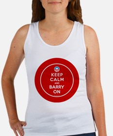Keep calm and barry on Women's Tank Top