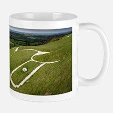 The Uffington bronze age white horse wi Mug