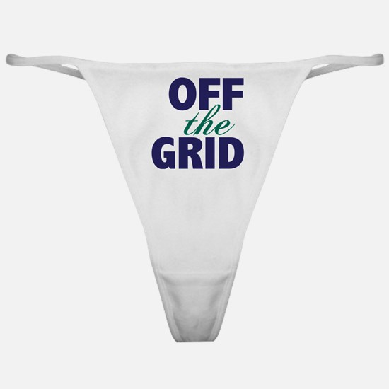 Off the Grid Classic Thong