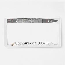 USS Lake Erie CG-70 License Plate Holder
