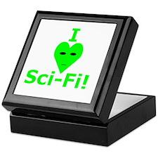 I Heart Sci Fi Keepsake Box