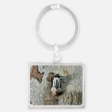 Tropical insect Landscape Keychain