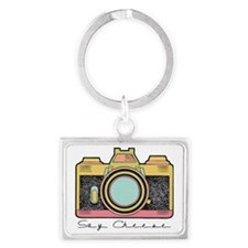 Say Cheese Landscape Keychain