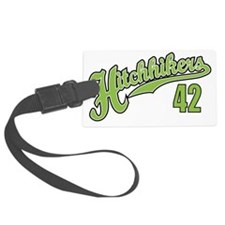 Hitchhikers Front Luggage Tag