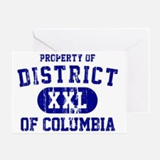 District of Columbia Greeting Card