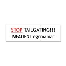 Tailgating Car Magnet 10 x 3