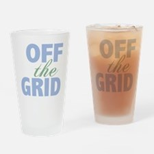 Off the Grid Drinking Glass