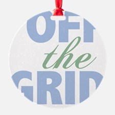 Off the Grid Ornament