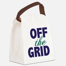 Off the Grid Canvas Lunch Bag