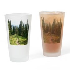 Trails are King Drinking Glass