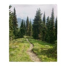 Trails are King Throw Blanket