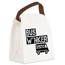Bus W*nker Canvas Lunch Bag