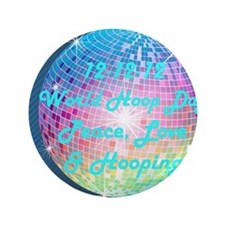 "121212 straight disco for buttons 3.5"" Button"