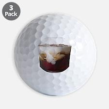 Big Lebowski White Russian Golf Ball
