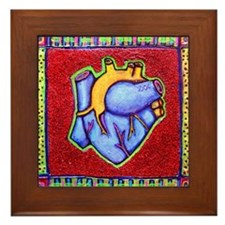"Bickman ""Heart"" Framed Tile"