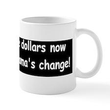 anti obama obama changed Small Mug