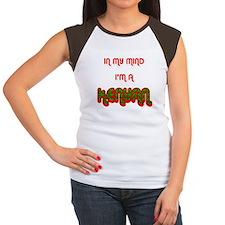 Kenyan Women's Cap Sleeve T-Shirt
