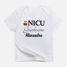Personalized NICU Graduate Baby Girl Infant T-Shir
