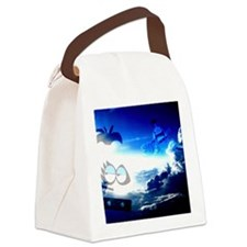 Bloo Skies Canvas Lunch Bag