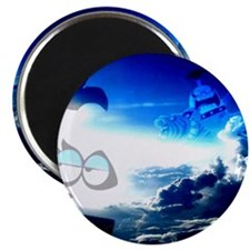 Bloo Skies Magnet