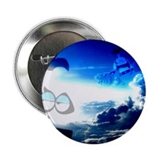 "Bloo Skies 2.25"" Button"