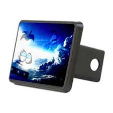 Bloo Skies Hitch Cover