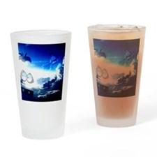 Bloo Skies Drinking Glass