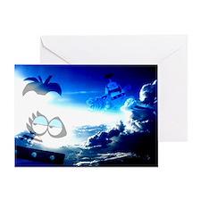 Bloo Skies Greeting Card