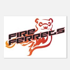 Fire Ferrets Postcards (Package of 8)