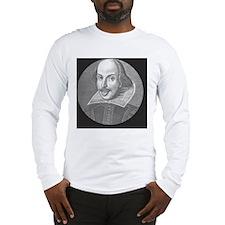 Wacky Shakespeare -BUT Long Sleeve T-Shirt