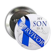 """My Son is a Survivor 2.25"""" Button"""