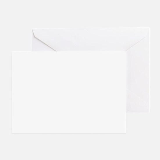 schnauzerbizwht Greeting Card